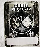 2013 Marilyn Manson Alice Cooper Backstage Pass Shock Therapy Guest