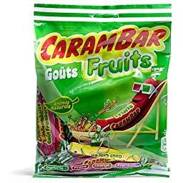 Carambar FRUIT Candy in A Bag 130g