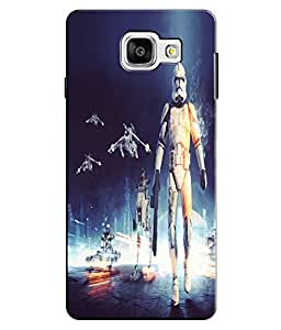 EU4IA Star Wars Battle Front Spoilers Pattern MATTE FINISH 3D Back Cover Case For GALAXY A5 (2016) NEW - D156
