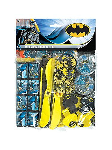 Hallmark 222575 Batman Heroes and Villains Party Favor Value Pack at Gotham City Store