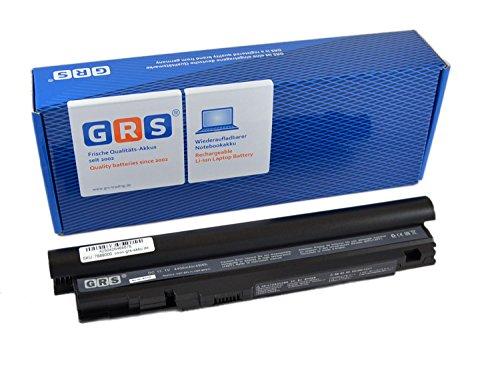 GRS Batterie d'ordinateur portable pour: Sony Vaio VGN-TZ série, compatible pour: VGP-BPL11, VGP-BPS11, VGP-BPX11 portable avec 4400mAh/49Wh, 11.1V Li