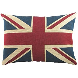 Traditional Union Jack Tapestry Cushion by Evans Lichfield