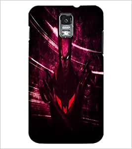 PrintDhaba Batman D-4851 Back Case Cover for SAMSUNG GALAXY S5 (Multi-Coloured)