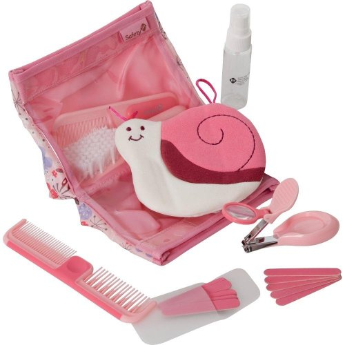 Safety 1st Complete Grooming Kit, Pink - 1