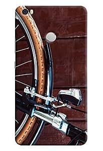 Omnam Cycle Wheel Printed Designer Back Cover Case For Xiaomi Mi Max