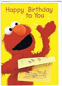 Sesame Street - Elmo - Happy Elmo Happy Birthday