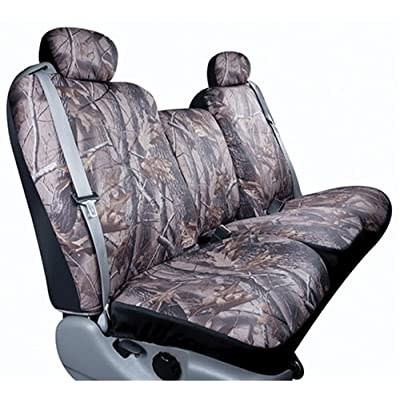 Saddleman Custom Made Rear Bench Camouflage Backrest Seat Cover Polyester Fabric
