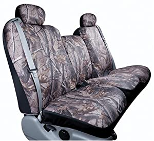 Saddleman Custom Made Front Bucket Seat Covers - Polyester Fabric (Camouflage)