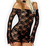 Zhitunemi Womens Sexy Lingerie See T…