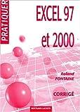 echange, troc Fontaine - Corrige pratiquer excel 97 et 2000