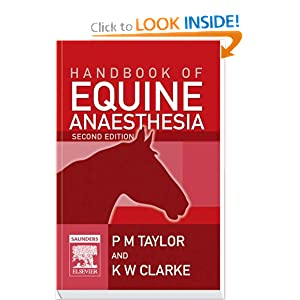 Handbook of Equine Anaesthesia [Paperback]