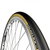Veloflex Record Time Trial Open Tubular Clincher Road Bicycle Tire (Black - 700 x 22)