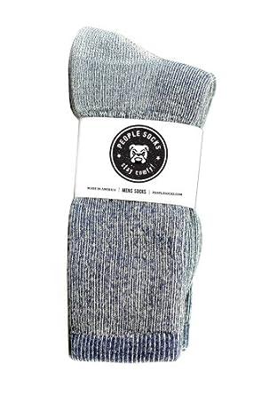 People Socks Mens Merino Wool Blend below Calf (4 Pairs) by People Socks