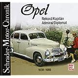 Opel Rekord, Kapitän, Admiral, Diplomat