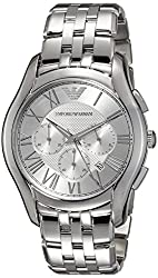 Emporio Armani Analog Silver Dial Mens Watch - AR1702