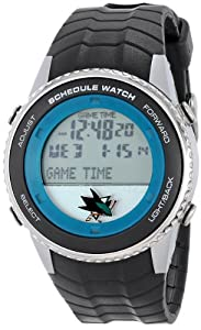 Buy Game Time Mens NHL Schedule Series Watch - San Jose Sharks by Game Time