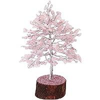 FairyBells Kart Energised Rose Quartz Crystal Tree FBKAC35