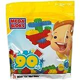 90-Piece Mega Blocks Bag
