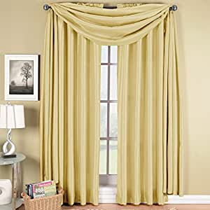 Exquisite draperies soho rod pocket faux silk for 108 window treatments