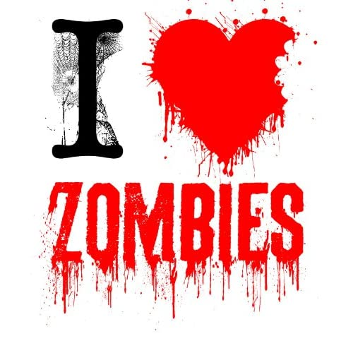 Amazon.com : I Love Zombies Iron On T Shirt Transfer 8x10 : Other