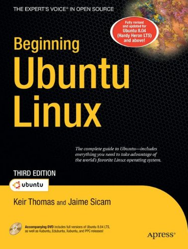 Beginning Ubuntu Linux: Keir Thomas, Jaime Sicam: 9781590599914: Amazon.com: Books