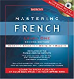 Barron's Mastering French: Level One (Mastering Series/Level 1 Compact Disc Packages)