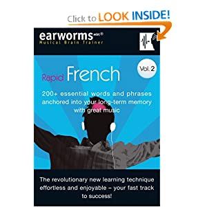 Earworms Rapid French, Volume 2 (v. 2) Marlon Lodge