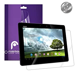 Fosmon Screen Protector Shield for ASUS Transformer Pad Infinity TF700 3 Pack, Clear (HD)