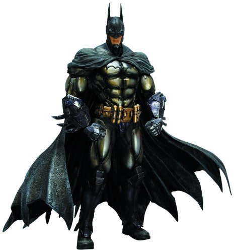 Square Enix Batman Arkham Asylum Play Arts Kai Armored Batman Action Figure at Gotham City Store