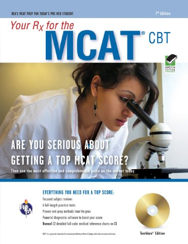 Mcat (Medical College Admission Test) W/Cd-Rom 7Th Ed.: Your Rx For The (Mcat Test Preparation)