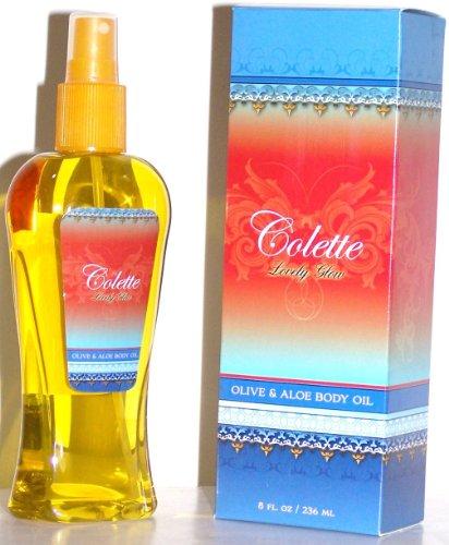 Colette Lovely Glow Olive & Aloe Body Oil 8 oz.