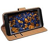 """mumbi Ledertasche im Bookstyle f�r HTC One Tasche mit Aufsteller (NICHT HTC One M8)von """"mumbi"""""""