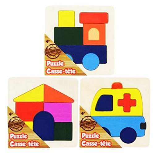 REAL WOOD PUZZLE PACK (3 Pack)