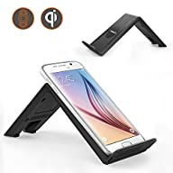 Wireless Charger, MoKo Qi 3-Coil Charging Pad Stand for Samsung Galaxy S6 / S6 edge / S6 Edge+ /…