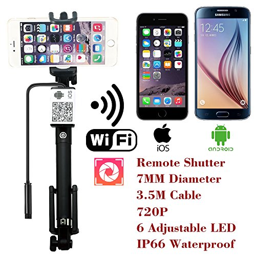 Upgraded-Wifi-Wireless-Endoscope-Built-in-Remote-Shutter-Borescope-7mm-2MP-6LED-720P-IP66-Tube-Waterproof-Snake-Inspection-Camera-System-for-iphone-iOS-ipad-Samsung-Android-Smartphone-by-AttoPro-35M