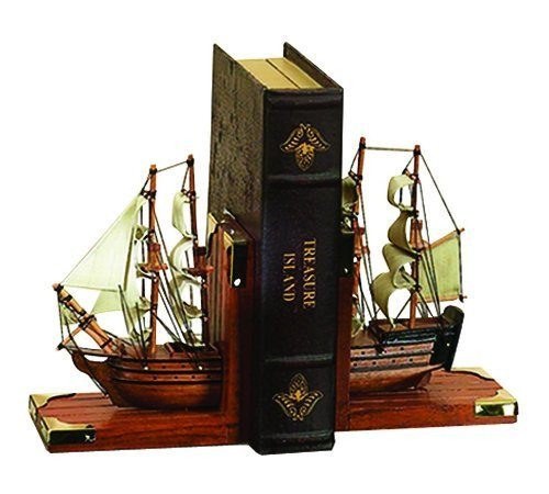 Nautical Coastal Bookends front-601800