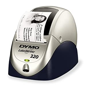 dymo labelwriter 320 label maker 320 standard address labels free computers. Black Bedroom Furniture Sets. Home Design Ideas