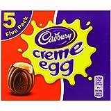Cadbury Crème Egg Multi-pack 197 g (Pack of 4, total 20 eggs)