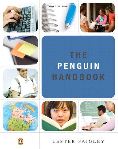 The Penguin Handbook, 3rd Edition