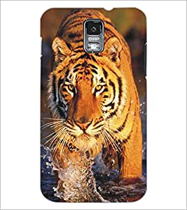 SAMSUNG GALAXY S4 MINI TIGER Designer Back Cover Case By PRINTSWAG