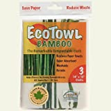 Pacific Dry Goods Eco Large Bamboo Dish Towels Set of 4