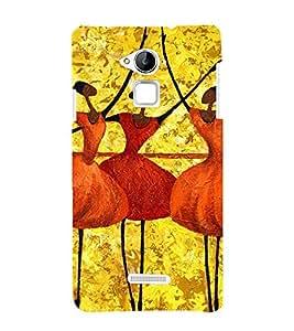99Sublimation Bele dance by Girls 3D Hard Polycarbonate Designer Back Case Cover for Coolpad Note 3