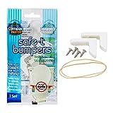 COMPAC HOME Safe-t-Bumpers Toilet stabilizer, 1 Set