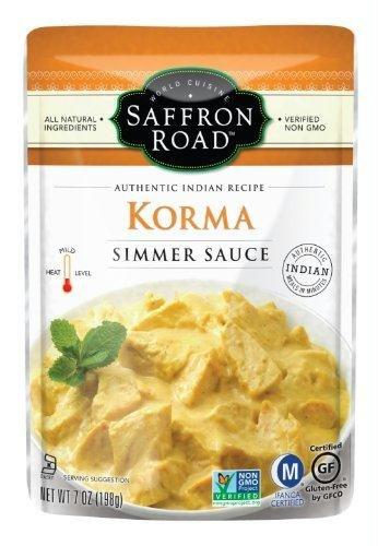 Saffron Road Coconut Curry Korma Simmer Sauce (Coconut Curry Simmer Sauce compare prices)