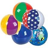 """Rhode Island Novelty 16"""" Beach Ball (50 Piece Per Order), Assortment"""