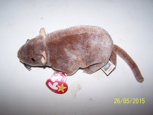 Ty Beanie Babies - Tiptoe the Rat - 1