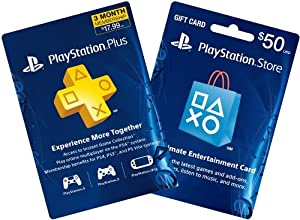 3-Month PS Plus + $50 PS Gift Card - PS3 / PS4 [Digital Code]