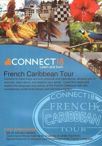 Virtual Active Connect 18 Learn and Burn French Caribbean Tour DVD