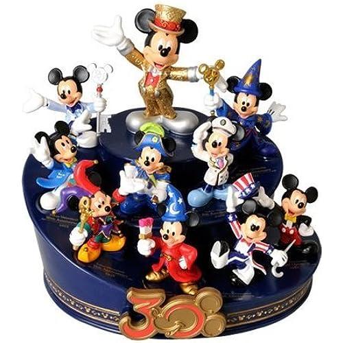 [도쿄 디즈니 리조트30주년 기념]미키마우스 30주년 히스토리 피규어 ring 더・ 하피네스 ・이어 Disney