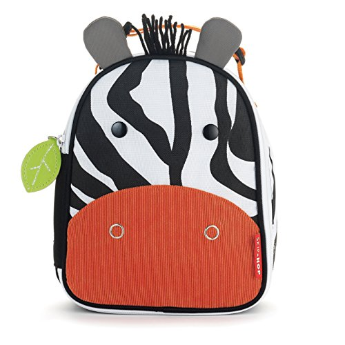 Skip Hop Zoo Lunchie Insulated Lunch Bag, Zebra